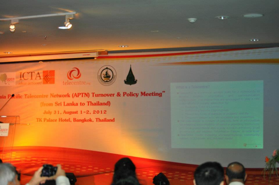 APTN Turnover & Policy Meeting (Bankok)