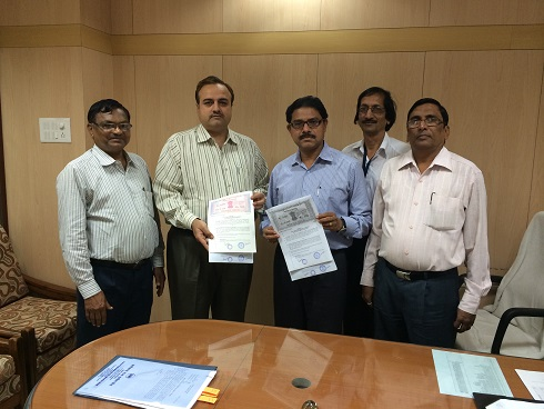 Agreement Between NICT and C.R.G.B on the 9th Sept.2014