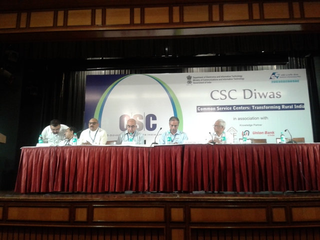 CSC Day Celebration On 16 July 2013 at New Delhi