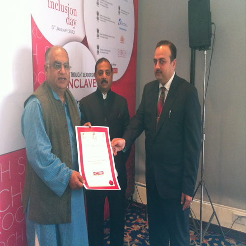 Certificate of Merit by SKOCH Group (2011)