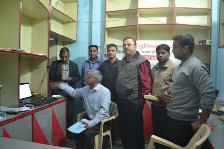 IT secretary Mr. J Satyanarayan visit at Datana