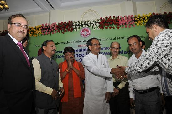 Excellence In e-Governance Initiative In M.P. 2011-12