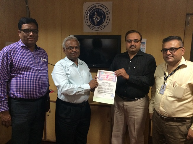 Agreement Between NICT and Madayanchal Gramin bank on the 25th Sep 2014