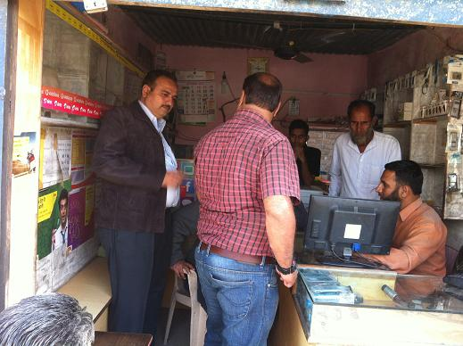 Director-Directorate of Census Operations(MP) Visit to CSC