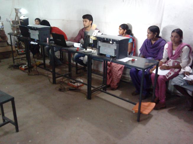 NICT UID Center CSC- Bagh District- Dhar M.P.