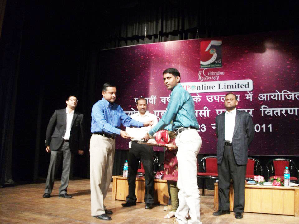 VLE Rewarded on 5th anniversary of MP online