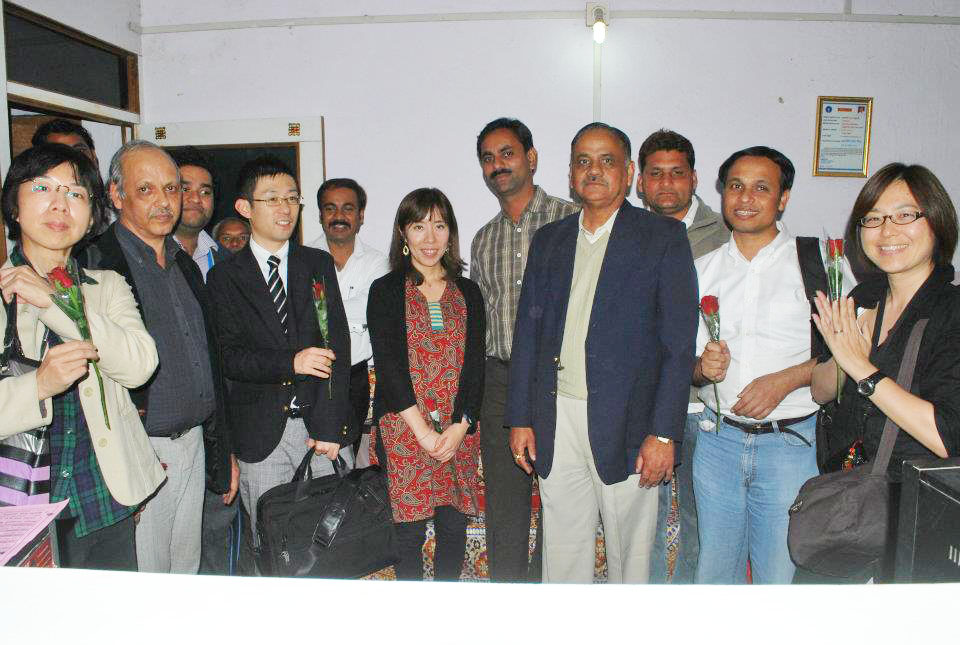 Visit of Japanese delegates at Common Service Center (NICT)